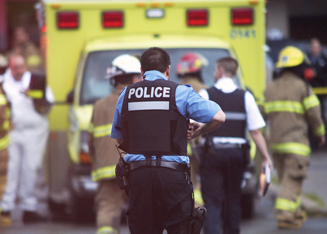 Thoroughly vetted EMT, Firefighters and Police on the scene of an accident can be trusted by those in need.